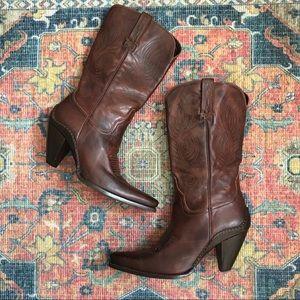 Charlie 1 Horse high heel boots